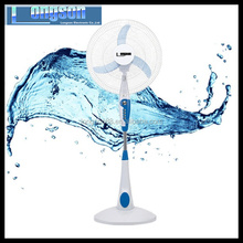 indoor electric charging stand fan with round base top quality