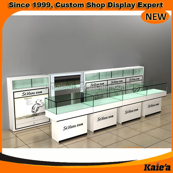 2015 modern design jewelry kiosk display,jewelry kiosk design