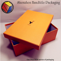 Custom High Quality shoe box packaging with handle