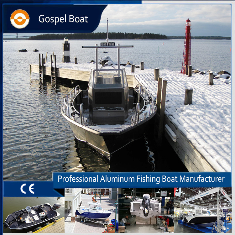 CE approved 7.5m marine aluminum landing craft boats for sale