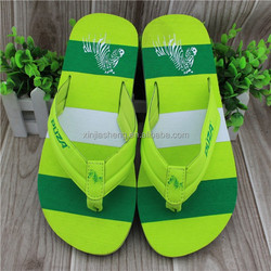 PU Upper Material and Outside Use Fashion Man Slipper