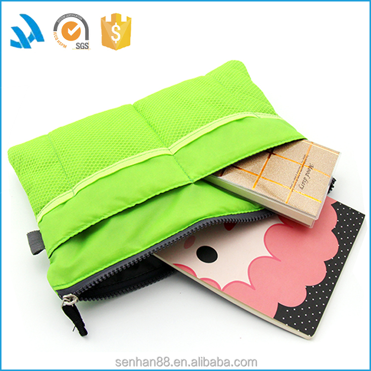 New launched professional colorful polyester cosmetic bag
