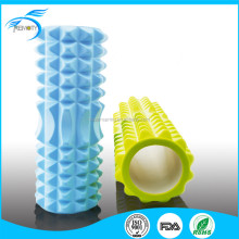 Exercise High Density Hollow EVA Foam Roller with Massage Grid