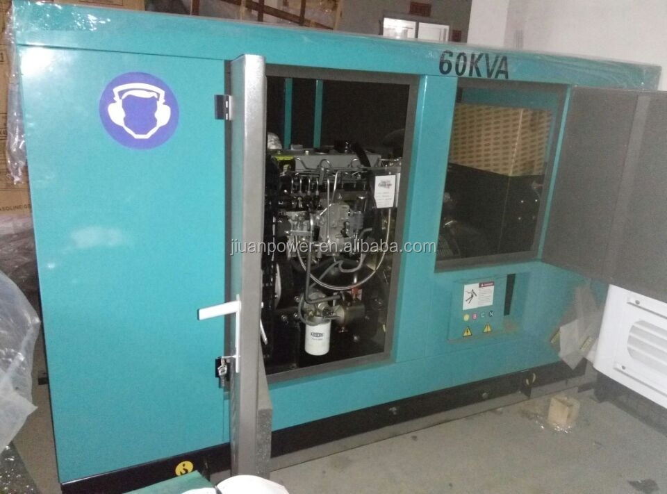 50kva guangzhou sale with factory price slient electric power diesel generator lovol 30kva ats