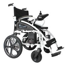 DLY6009 Double 250W motor easy folding electric wheel chair price