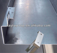 High quality sheet metal bending fabrication parts