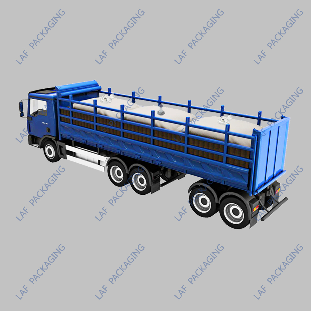 LAF Trailer Flexitank for Bulk Liquid truck flexitank