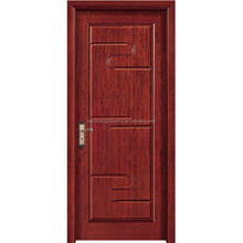 Free six cedar wood door surface natural veneered door