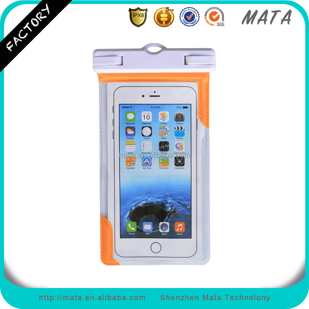 Free Sample Waterproof Case for Lenovo A7000 Waterproof Case with IPX8 Certificated