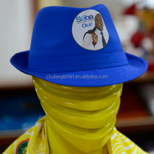 2016 Benin election cowboy cap with photo print