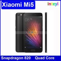 Newest and Latest Xiaomi Mi5 xiaomi mi 5 3GB/32GB/44GB/128GB snapdragon 820 3000mAh 16ML NFC dual sim 4K video Orignali xiaomi 5