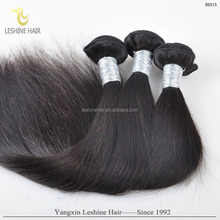 Factory Direct Sale Double Drawn Unprocessed Straight Indian Remy Hair