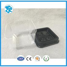 Stock hot selling transparent cupcake pakaging tray brilliant cake packing box for wholesale