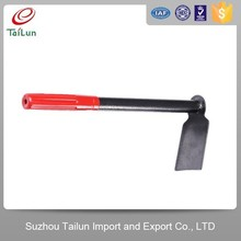 High quality A3 Steel garden hoe with pvc grip handle