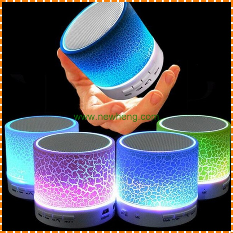 Wholesale Classical Wireless bluetooth speaker Led with Stereo sound