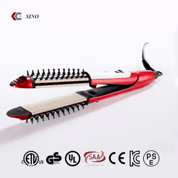 China Manufacturer Best Quality Hair Straightener With Comb