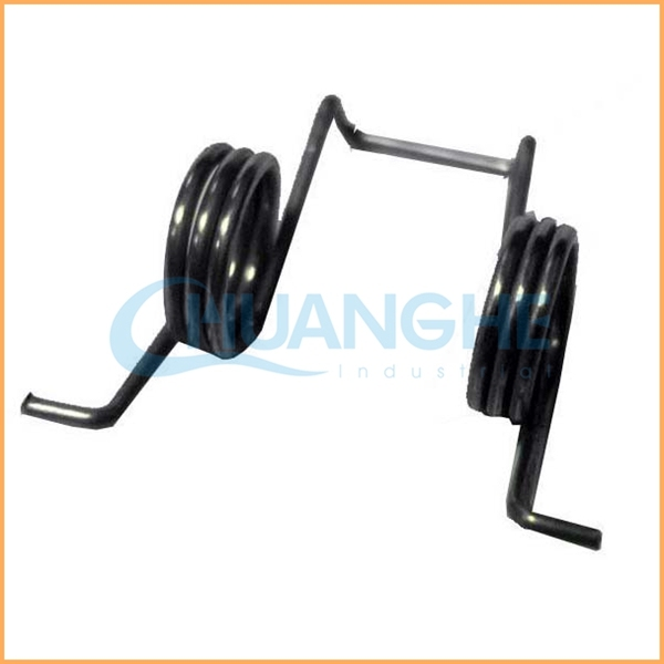Chuanghe Manufacturer sales steel wire chrome plated special shape torsion spring