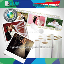 High quality 3d glossy RC photo paper