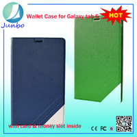 Smart pu leather flip cover cheap tablet cases for samsung galaxy tab s