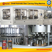 Small automatic beer canning filling machine/machinery/line