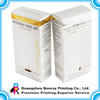 Printing built-in insert carton box for medicine