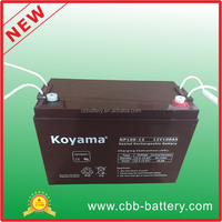 cheap lead acid batteries 12V 100ah AGM storage battery