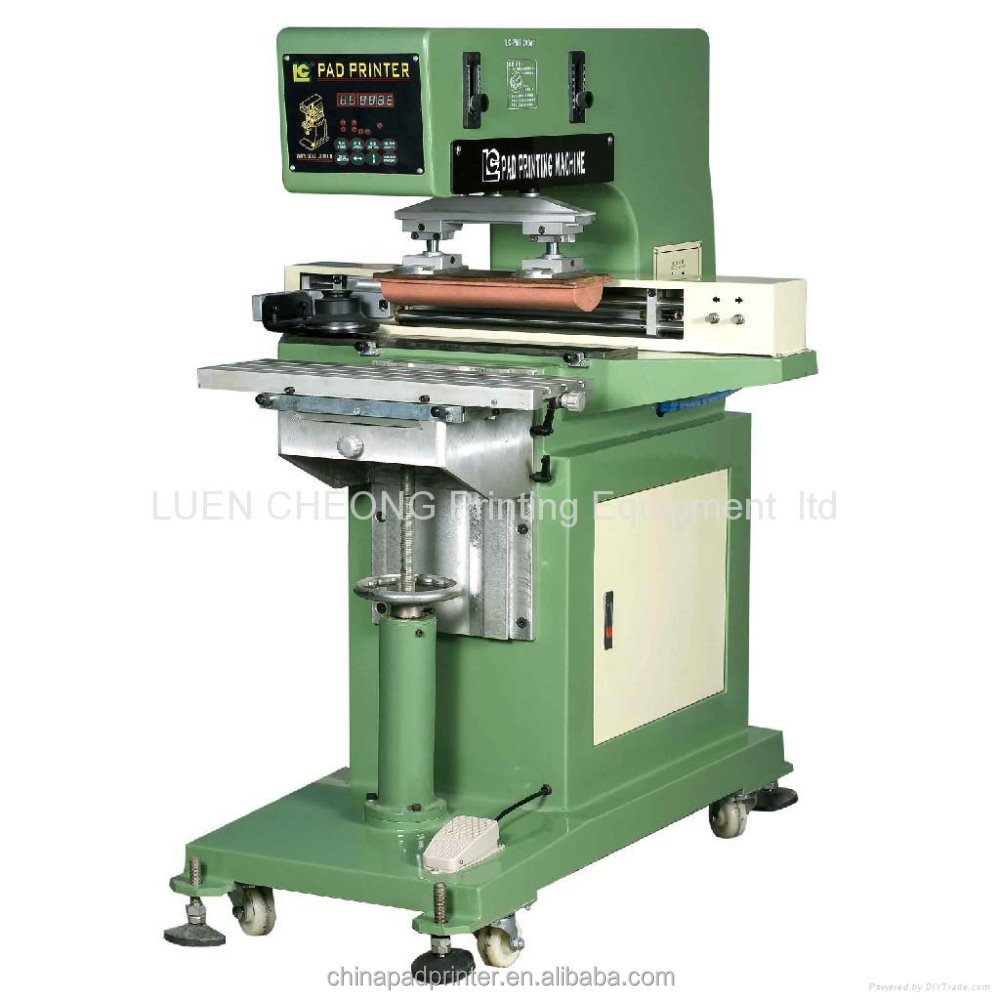 China single color cheap printing machine for T-shirt computer stationery label