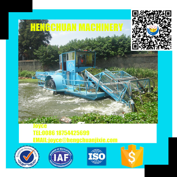 China Price Water Cleaning Vessel/Boat/Ship/Machine In River For The Floating Trash, Aquatic Weed