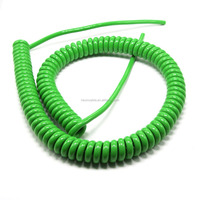 PUR/PVC Spiral Wire &coiled Cable