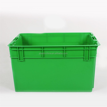 heavy duty stackable crate stacking logistic plastic container