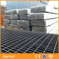 plain type steel grating, smooth type steel grating, grid walkway and flooring