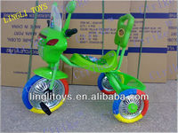 Pinghu Lingli plastic kids'tricycle, toddler tricycle,three wheels toy bike