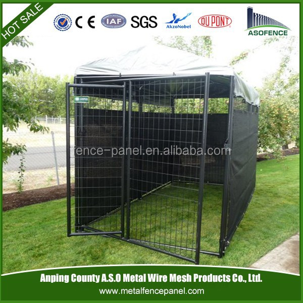Cheap pvc coated dog kennel for sale