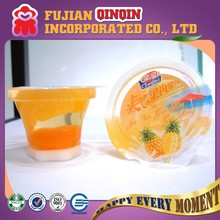 FDA HACCP certified 80g real fruit cup jelly nata de coco