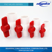 Durable using low price pvc ball valve