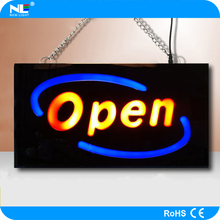 led open shop sign board / coffee sign board/led light panel