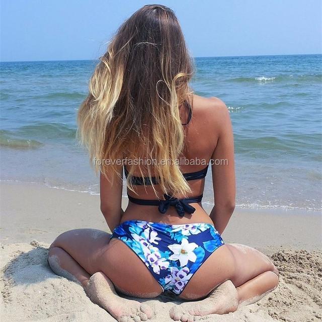2018 Hot sales Sportswear sexy swimwear mature brazilian woman bikini open sexy girl full photo