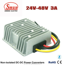 Electric Car Voltage Regulator 144W DC/DC Power Converter 24V to 48V Step-up DC DC Power Supply