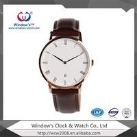 Custom ultrathin fashion stainless steel watch