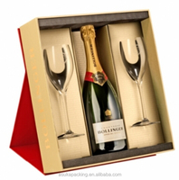 Alibaba China Bollinger Champagne Gift box, paper packaging