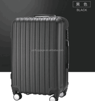 bags and luggages suitcase abs plastic carry style with trunk luggage with wheels travel bag suitcase from luggage bags & cases