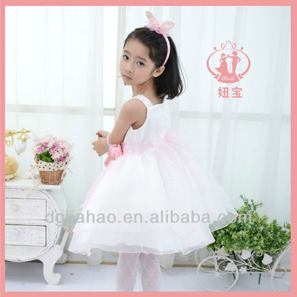 Hot! Organza wonder flower cheap china wholesale kids clothing