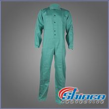 poly cotton garments safety overall wholesale used fire retardant clothing