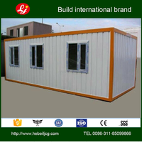 Prebulit modified container home for offices/carport/hotel 20ft container home for sale