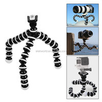 Flexible tripod camera stand Octopus Mount for gopros heros 4/3/2 accessory