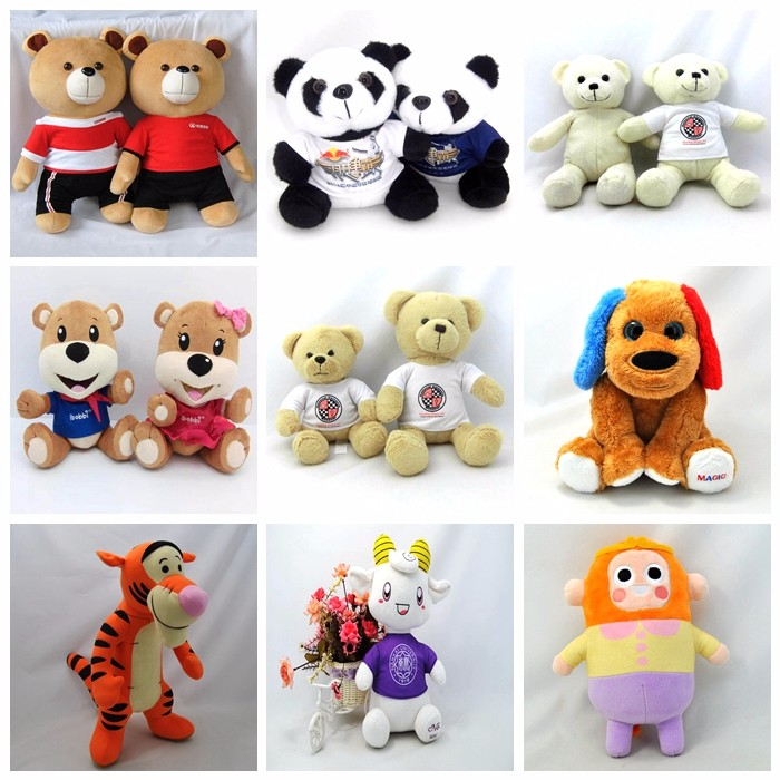 Customized plush stuffed rabbit animal toys / OEM & ODM plush toy manufacture