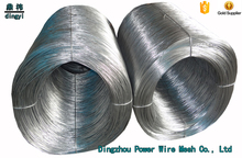 Hebei Factory Hot dipped Galvanized iron mesh concrete reinforcing stitching Binding Wire