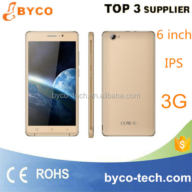 6 inch mobile phone manufacturing company in china/cheap android 5.1 quad core 6 inch smart phone