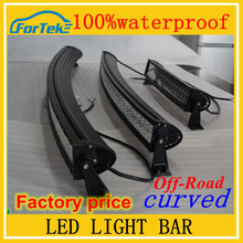 Accessories 100%waterproof car off road curved led light bar