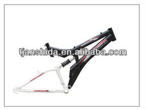 steel suspension bicycle frame for mtb bicycle
